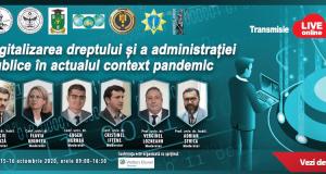 [CUM A FOST] Digitalizarea dreptului și a administrației publice în actualul context pandemic