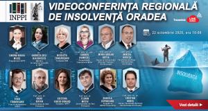 Videoconferința regională de insolvență Oradea – Online