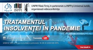 Conferința insolvență Timișoara. Tratamentul insolvenței în pandemie