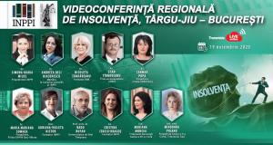 Videoconferință regională de insolvență, Târgu-Jiu – București