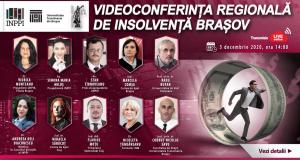 Videoconferință regională de insolvență Brașov