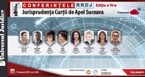 Conferințele RRDJ, ediția a IV-a: Jurisprudența Curții de Apel Suceava
