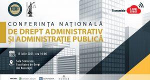 [CUM A FOST] Conferința Națională de Drept Administrativ și Administrație Publică