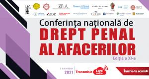 Conferința națională de Drept Penal al Afacerilor, ediția a XI-a