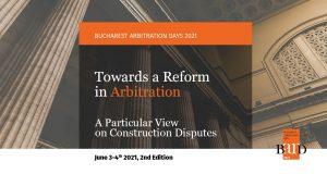 Bucharest Arbitration Days – 2021
