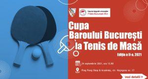 Cupa Baroului București la Tenis de Masă, Ediția a II-a, 2021
