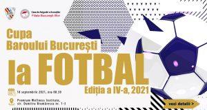 Cupa Baroului București la Fotbal, Ediția a IV-a, 2021