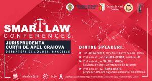 [CUM A FOST] SMART LAW CONFERENCES – Jurisprudența Curții de Apel Craiova. Dezbateri și soluții practice